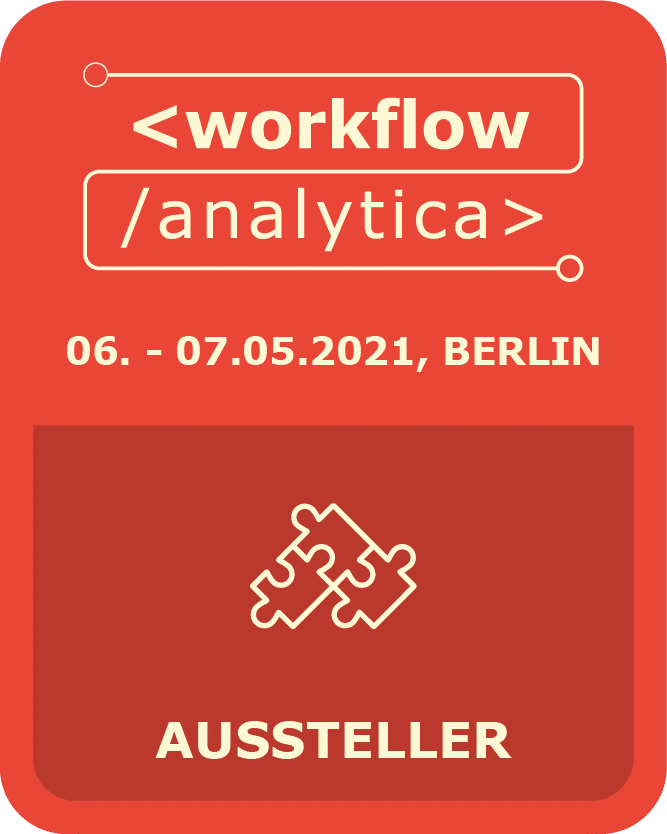 I am exhibitor @ WorkflowAnalytica