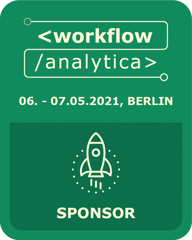 I am sponsor @ WorkflowAnalytica